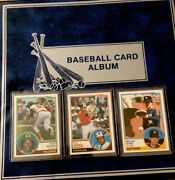 1983 Topps Baseball Complete Set 792 Cards In Collectors Card Album -ex