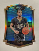 2015-2016 Panini Select Stephen Curry Light Blue Die Cut /199