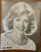 Actress Ellen Maxted - Signed Celebrity Autograph - Anita In Texas Tv Show