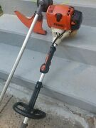 Stihl Km90r With String Trimmer Attachment