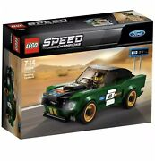 Lego Speed Champions Ford Mustang Fastback 75884 Nisb Free Same Day Shipping