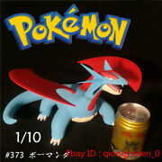 1/10 Scale Salamence Figure Toy Gk Resin Anime Statue Model Collection Gift