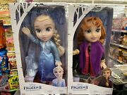 Disney Princess Anna And Elsa Tea Time For Two Toddler Doll Frozen New Lot Of 2