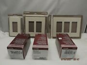 Lutron Cw-la 1 2 And 3 Gang Wall Plates And Light Switches - You Choose