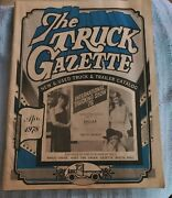 1978 The Truck Gazzette Big Rig Kenworth Frieghtliner New And Used Truck Catalog