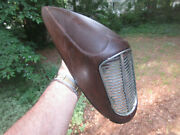 1936 Desoto Fender Mounted Horn Grille Cover Extremely Rare