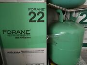 R22 R-22 Refrigerant Forane 30 Lb New Factory Sealed Virgin Local Pickup Only