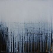 Paul Lorenz - Absence With Black And Horizon 2007 - Huile Sur Toile