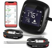 Digital 6 Probes Meat Thermometer Kitchen Wireless Bbq Food Bluetooth Oven Grill
