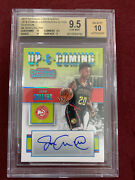 John Collins 2017 Panini Contenders Up And Coming Auto Rookie 1/1 Bgs 9.5/10