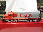 Lgb 22562 Santa Fe Diesel Engine Queen Mary Series Sound Tested G Scale