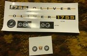 Decal For Oliver 1755 Pedal Tractor - New Nos - Scale Models