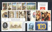 2017 Smom , Stamps New, Year Complete, 44 Values +7 Sheetlets Mnh