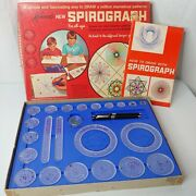 Vintage 1967 Kenner Spirograph No. 401 Nearly Complete Missing 2 Pens No Paper
