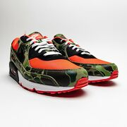 """Nike Air Max 90 """"reverse Duck Camo"""" Cw6024-600 Size 15 Ships Today"""