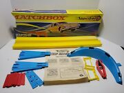 Vintage Matchbox Superfast Sf-3 Curve And Space Leap Set 99 Complete 1967
