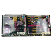 Lot Of 2 Monster High Art Class Studio Playset Retired And Home Ick Classroom