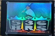 Mickey Mantle 1/1 2007 Platinum Topps Triple Threads 6 Piece Pants Card