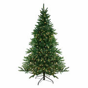 Northlight 12and039 Pre-lit Led Instant Connect Noble Fir Artificial Christmas Tree