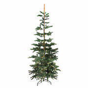 Northlight 9' Layered Noble Fir Artificial Christmas Tree Warm Clear Led Lights