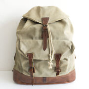 Used Rrl Backpack Swiss Army Vintage Processing L48cm W42cm Rare