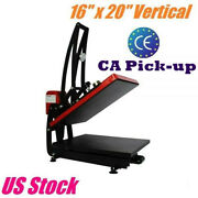 Ca Pick-up 16x 20 Heat Press Machine Vertical Clamshell T-shirt Sublimation