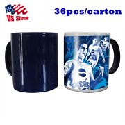 11oz Blank Sublimation Color Changing Mugs Magic Cup Full Color Changing Black