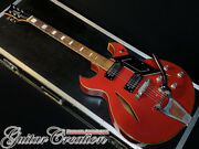 Vintage 1960and039s Firstman Broadway Special Electric Guitar With Soft Case