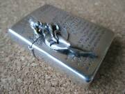 Used 1995 Zippo Parachute Windy Only Oil Lighter Discontinued Products Rare