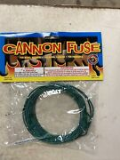 Cannon Fuse Safety Fuze Wick 16.4 Feet Roll 3.0mm Firework Fuse