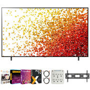 Lg 86nano90upa 86 Inch 4k Nanocell Tv 2021 Model With Movies Streaming Pack