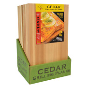 Truefire Cedar Grilling Planks, 7.25 In X 12 In, 2-count, 12-pack