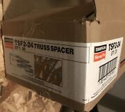 20box Simpson Strong-tie 1-1/2w X 10' Lfor 24 On-center Truss Spacer Tsf2-24