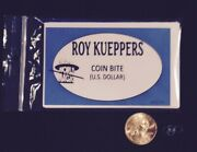 Coin Bite - Us Quarter By Roy Kueppers Us Quarter
