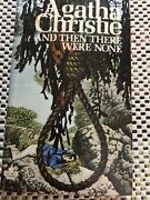 And Then There Were None Agatha Christie - Tom Adams Cover Art Like New