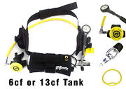 Dxdiver Pony Bottle Setup Weigh Integrated Scuba Diving Deco Tank Extra Air Pool