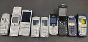 Lot 50 Nokia Salvage Phones Untested 9 Nokia Phones For Parts Or Collectibles