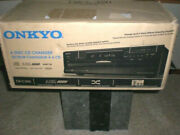 New Onkyo Dxc390 6 Disc Cd Changer Player Black With Mp3 Cd Playback Dx-c390