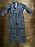 Rosies Workwear For Women Farm Mechanic One Piece Suit Blue Coveralls Size Large