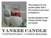 Yankee Candle Easter Bunny Rabbit Large Jar Holder Bath And Body Works Compatible