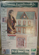 Vermont Farmhouse Jr. Dollhouse Model J-m401 By Real Good Toys New In Box