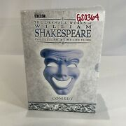 The Dramatic Works Of William Shakespeare Comedy [dvd, 2004, 5-disc Set] Bbc