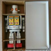 Used Metal House Electric Astro One 2 Tin Robot Operation Has Been Confirmed