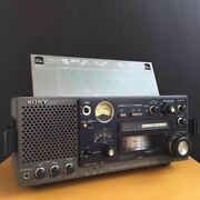Vintage Sony Icf-6800 Fm Mw Sw Bcl Multi Band Band Receiver 31 Radio Very Rare