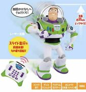 Used Toy Story Super Action Control Buzz Lightyear Character Doll Box Damage