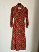 Ysl Rive Gauche Long Sleeve Dress Autimn 1991 Collection