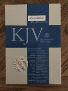 Kjv Concord Reference Bible, Burgundy French Morocco Leather With Thumb Index.
