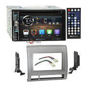 Soundstream Dvd Bt Phonelink Gray Stereo Dash Kit Harness For 05+ Toyota Tacoma