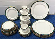 38 Piece Set Lenox Kelly Debut Collection Dinnerware Set Mint Condition Usa