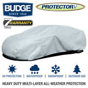 Budge Protector V Car Cover Fits Dodge Charger 2011 | Waterproof | Breathable